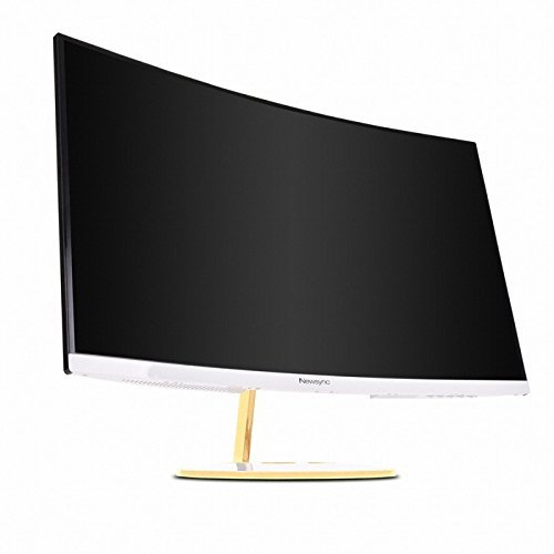"Newsync X27C 144 Curved 27"" FHD  Gold Design Gaming Monitor"