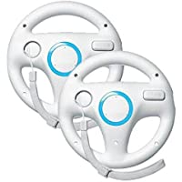 Beastron Mario Kart Racing Wheel for Nintendo Wii, 2 Sets...