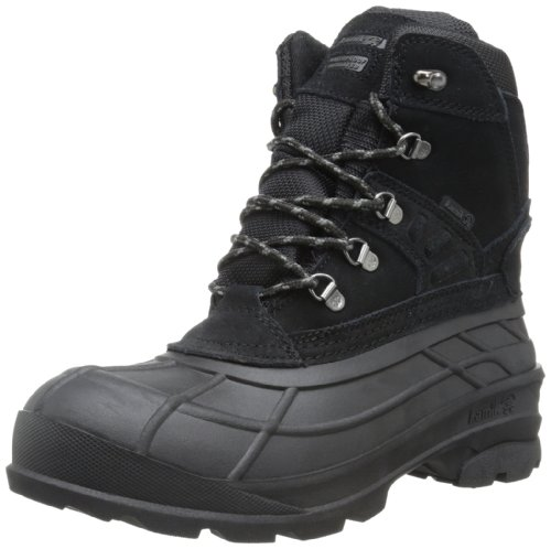 Kamik Men's Fargo Snow Boot,Black,8 M US