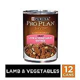 Purina Pro Plan Gravy Wet Dog Food, SAVOR Lamb & Vegetables Entree - (12) 13 oz. Cans