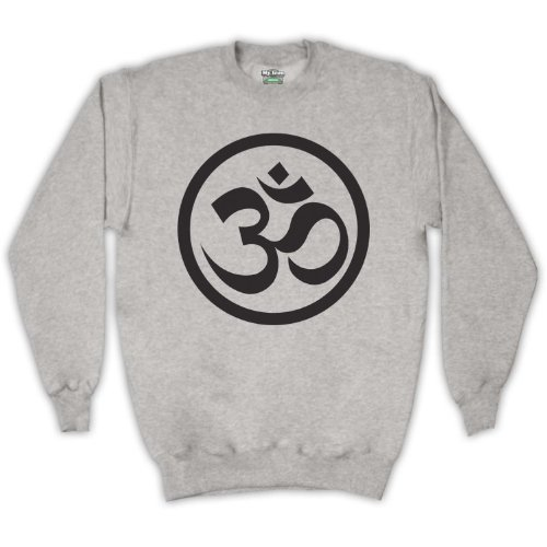 Art Icon Grigio My Simbolo Felpa Hindu Om Clothing Adulti amp; fT5wpq5xO