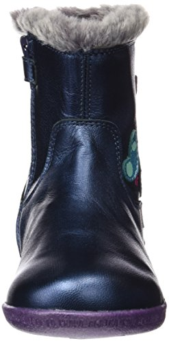 Agatha Ruiz de la Prada 161924, Zapatillas Altas para Niñas Azul Marino (Metalcris)