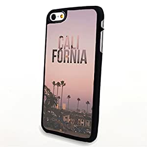 Generic Phone Accessories Matte Hard Plastic Phone Cases Quote Califonia Palm Tree fit for Iphone 6