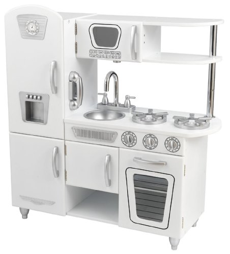 KidKraft White Vintage Kitchen - White
