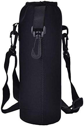Shoulder Strap 1L Water Bottle Carrier Insulated Cover Case Pouch bag Holder