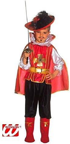 WIDMANN Desconocido Disfraz de mosquetero para niño: Amazon.es ...