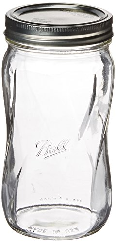 Ball 1440061184 Elite Spiral Crafts Supplies, 28 oz, Clear ()