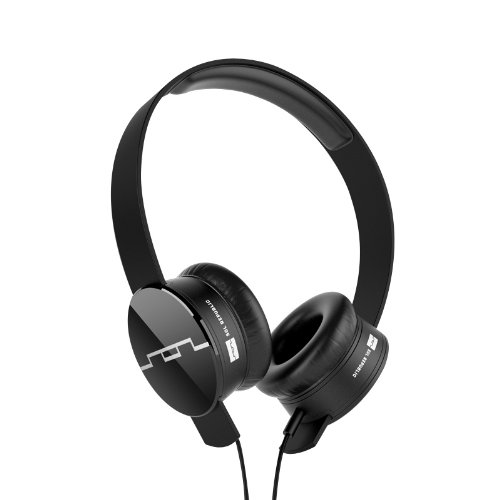 Sol Republic 1202-61 Tracks On-ear Interchangeable Headphones With 1-button Mic & Music Control - Black