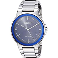 Citizen BJ651051L Eco-Drive Men's Axiom Stainless Steel Watch