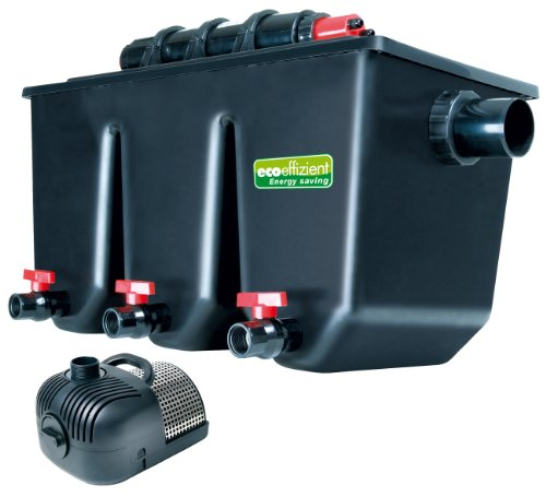T.I.P. Mehrkammer-Teichaußenfilter PTS 40000 UV, UV-C 25 Watt, für Teiche bis zu 40.000 Liter