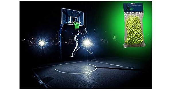 McNick brilla en la oscuridad de baloncesto borde aro Heavy Duty ...