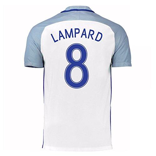 2016-17 England Home Shirt (Lampard 8) B01ERK3T1K
