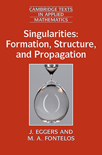 Singularities: Formation, Structure, and Propagation (Cambridge Texts in Applied Mathematics)