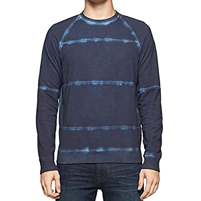 Calvin Klein Jeans Men's Cold Pigment Dye Stripe Sweatshirt