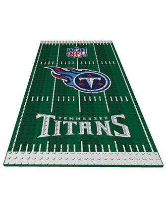 Tennessee Titans OYO NFL Display Plate Football Field for Minifigure (Titans Display Tennessee)