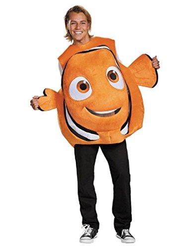 Disney Men's Finding Dory Nemo Costume, Orange, One Size