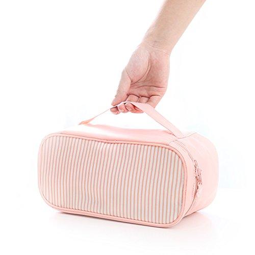 Travel Underwear Pouch (Pink) - 3
