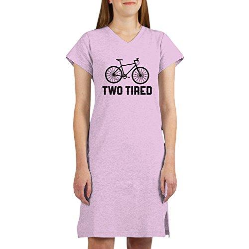 Tired Sleepshirt (CafePress Two Tired - Women's Nightshirt, Soft Long Pajama Shirt, Cotton PJs/Pyjamas)