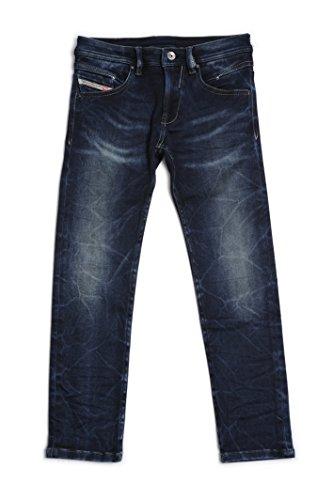 Diesel Distressed Jeans (Diesel Little Boys' Waykee Stretch Distressed Jean, Denim, 7)