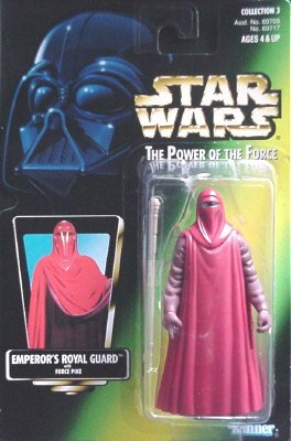 Star Wars Power of the Force Green Card Emperor's Royal Guard Action Figure 3.75 Inches]()