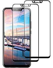 VICKSONGS Cristal Templado para Huawei Mate 20, [2-Unidades] [2.5d/0.3mm] [Sin Burbujas] [9H Dureza], HD Protector Pantalla para Huawei Mate 20, Screen Protector para Mate 20 – Negro