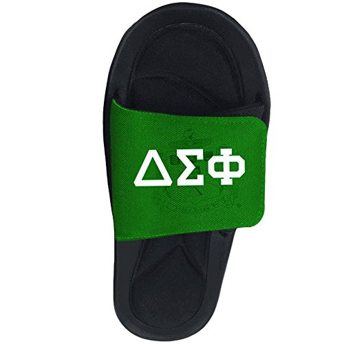 Delta Sigma Phi Slide On Sandals Multicolored 1Lcc3ZMtkb