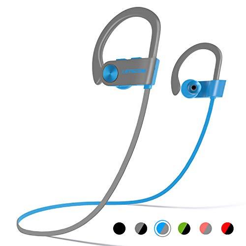 LETSCOM Bluetooth Headphones IPX7 Waterproof, Wireless Sport
