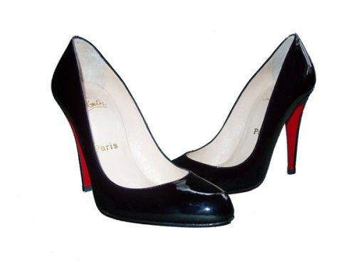 amazon com christian louboutin decollete shoes black pumps patent rh amazon com