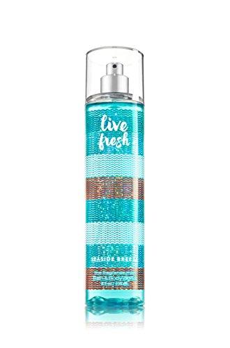 Calla Spray Body Fragrance - Bath & Body Works Live Fresh Seaside Breeze Fine Fragrance Mist, 8 Ounce