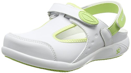 Oxypas Move Carin Slip-resistant, Antistatic Nursing Shoes, White (Lbl) , 3.5 UK (EU: 36) blanco - White (Lgn)