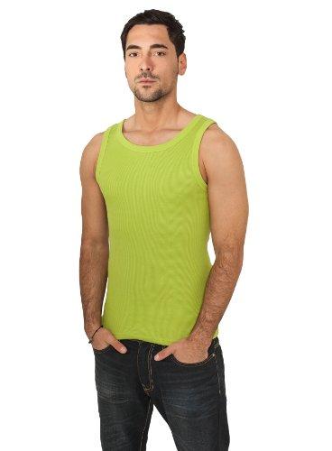 Urban Classics - Hombres Camiseta de tirantes TB066 camiseta de hombre Carbón cgreen