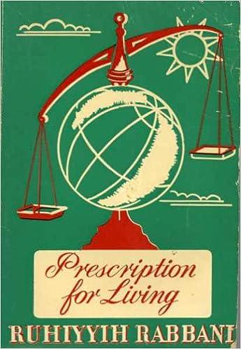 Book Prescription for Living