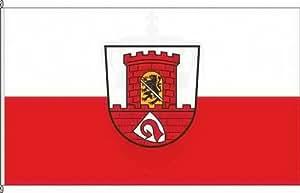 Bandera Bandera Pequeño höch Ciudad adaisch–40x 60cm