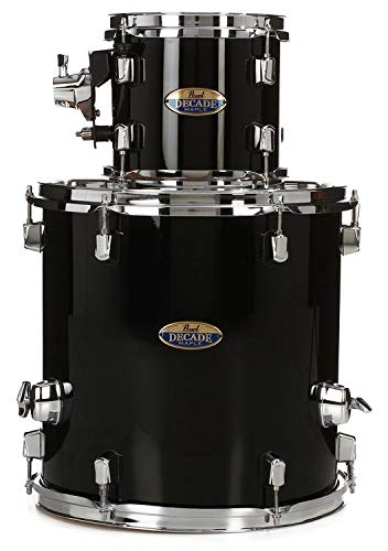Pearl Decade Maple 2-piece Add-on Pack - Black Ice Lacquer