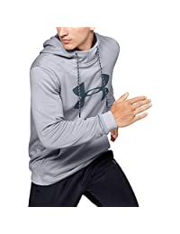 Under Armour Mens Armour Fleece Big Logo Graphic Hoodie Hoodie
