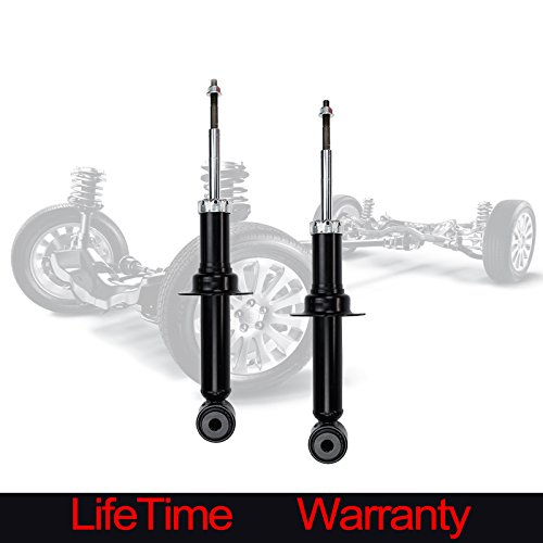 Alxiang 2pcs Rear Right+Left Side Gas Strut Shock For 00-06 Lincoln LS Truck Without Coil Springs