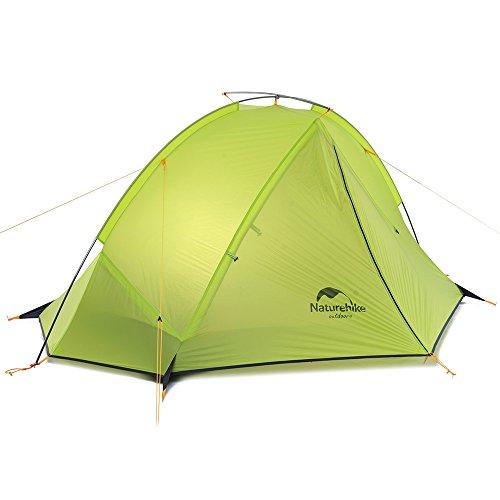 Naturehike Taga 1-Person Ultralight 3-Season Tent (Light Green)