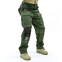 Breathable Ripstop Fabric Pants Military Combat Multi-pocket Molle Tactical Pants