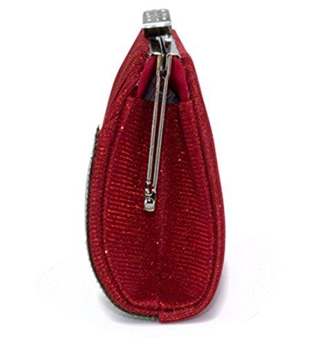 LeahWard Damen Handtasche für Hochzeit Abend Hochzeit Clutch Bag für Prom 514 (GOLD) BLAU cvO5wb