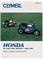 72-96 Honda Z50: Clymer Service Manual (Misc)