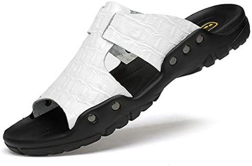 サンダル メンズ レザー 24-31cm 軽量 皮スリッパ 幅広 ビーチサンダル 滑り止め 柔らかい 革サンダル おしゃれ ブラック・ホワイト・ブラウン・ブルー