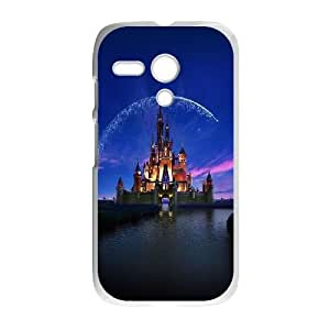 Motorola Moto G Phone Case White ac76 disney castle artwork illust sky TYTH3780035