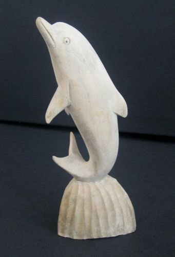 Brand-new Amazon.com: Dolphin Statue Wood Dolphin, Dancing Dolphin  EF49
