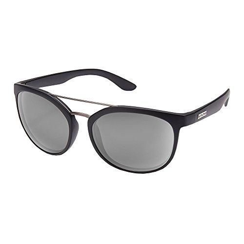 Suncloud Optics Liberty Injection Molded Sunglasses (Matte Black,Gray)