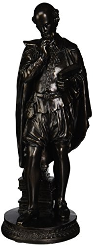 Design Toscano Pondering Shakespeare Sculpture