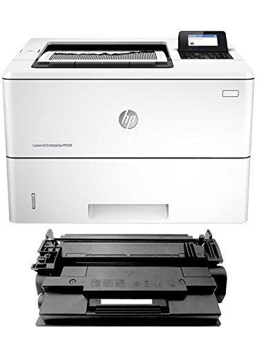 New Micr Printing Solutions (Renewable Toner M506N MICR Check Printer Package: LaserJet Enterprise M506N Printer and 1 RT 87A CF287A MICR Toner Cartridge)