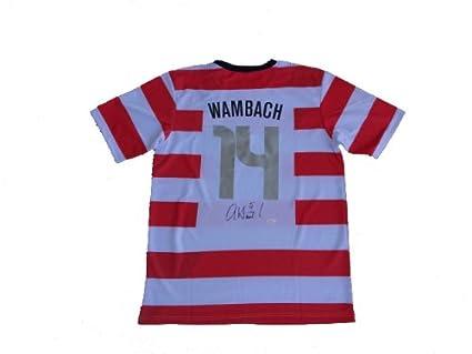 wholesale dealer e7c69 cf0f7 Abby Wambach Signed USA Olympic Soccer Jersey JSA at ...