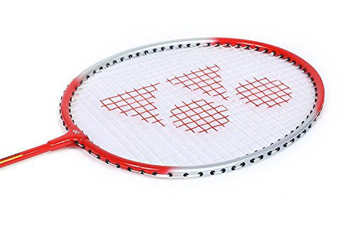 Yonex Badminton Racquet GR 303 Pack Of 2 (Clear Red)