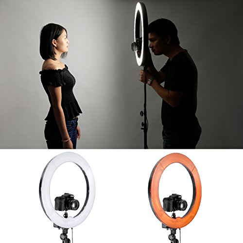 Fluorescent Light Ring: Neewer Camera Photo Studio Dimmable 18 Inches/48