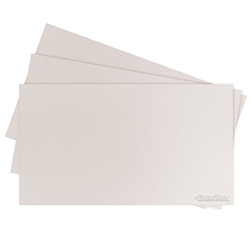 BuildTak BT115X65WT-3PK Sheet, 6.5'' x 11.5'', White by BuildTak
